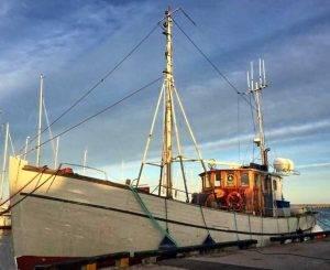 Hochseeangeln Gelbes Riff Hirtshals Dänemark Emilia