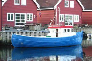 Dieselboot Marvik