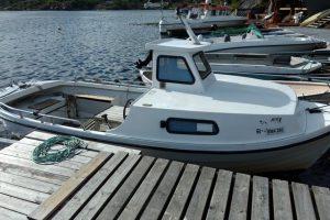 Angeln Tregde Mandal Südnorwegen Ferienhaus Assund Angelboot