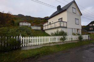 Havøysund angeln Nord Norwegen Töpfer Sjöhus Seehaus 3