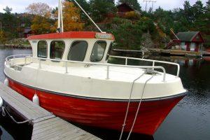 Dieselboot BALDER