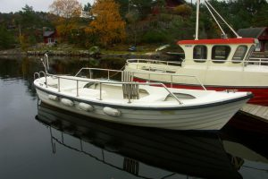 Offenes Dieselboot