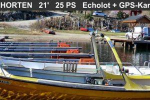 Dieselboot HORTEN