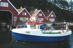 Dieselboot Hidle