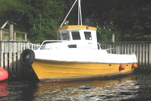 Dieselboot Obrestad