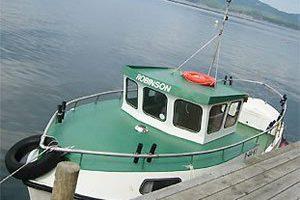 Dieselboot Robinson